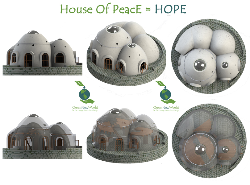 Green New World - House of Peace