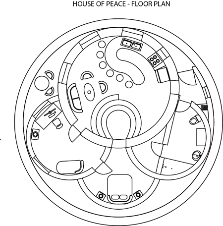 House of Peace - Floor Plan